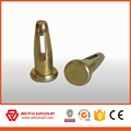 Steel Round Head Wedge Pin In Aluminum Form Fasteners System
