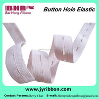 Good quality button hole elastic belt 20mm for pants