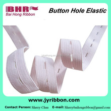 Good quality button hole elastic belt for pants