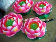 Wholesale Lotus Flower Buddhism Candles LT33