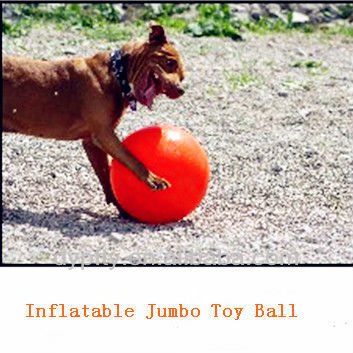 Chemical fiber, natural rubber big toy ball