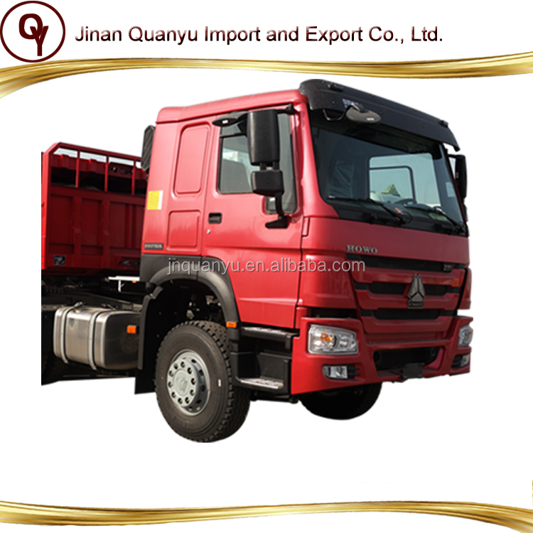 Sinotruk Howo 6x4 tractor truck 371 HP trailer head price for sale