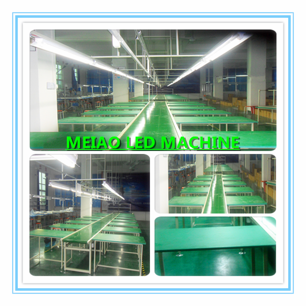 automatic production line for fans with functions of assembly ,test /aging and package integration