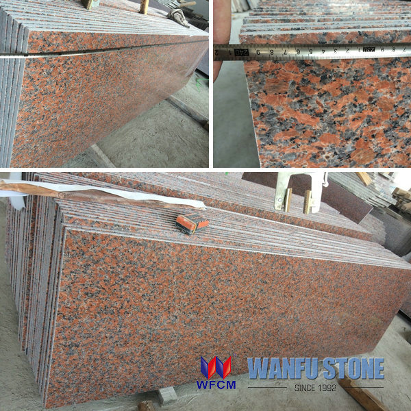 Chinese Granite big slab red, indian tropical green granite slab