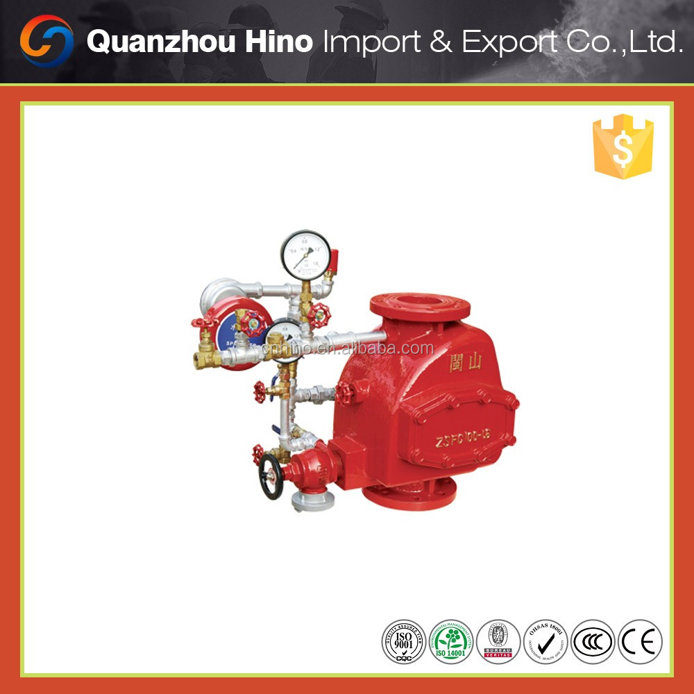 Water check valve and wet alarm valve for Fire Fighting