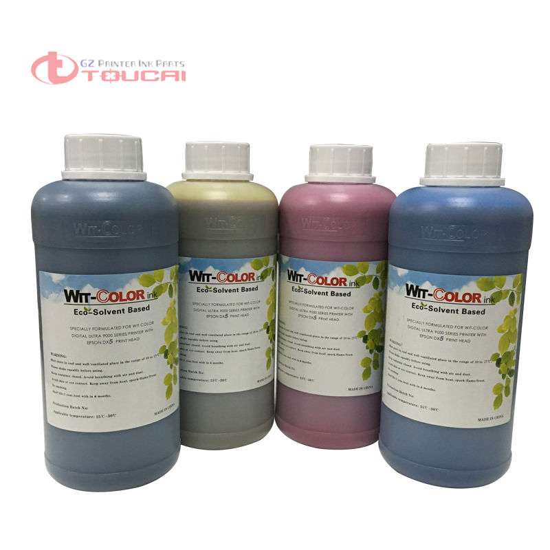Large format printer wit color ultra 9000 and wit color ultra 9200 eco solvent ink