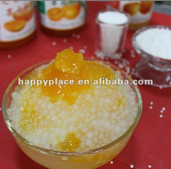 sago pearl for bubble tea canned bean food
