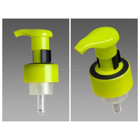 43mm foam pump, with decorative color ring on closure