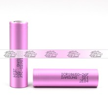 In stock ! Samsung ICR18650 26F 3.7V 2600 mah li-ion rechargeable 18650 battery cell use for ebike