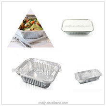 Disposable Rectangular Aluminium Foil Take away Food Container