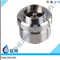 Sanitary Check Valve Union Body Check Valve Price Low Medical Stainless Steel FLange Pipe Fitting