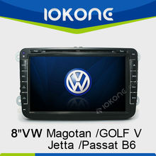 Touch screen Car DVD player for VolksWagen Magotan/Golf V/Jetta/Passat B6 with GPS