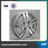 ZW-Z0038 15 inch Aliminum alloy cheap rims and tires in stock