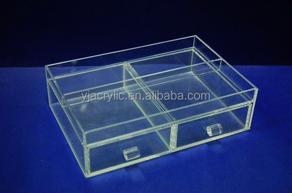 Customized acrylic drawer divider
