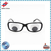 Funny Party Glasses with Googly Goggles Shaking Eyes For Halloween Party Decoration