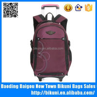 Multi-function new wheeled backpack laptop trolley bag