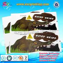 Environmental protection material sticker for car