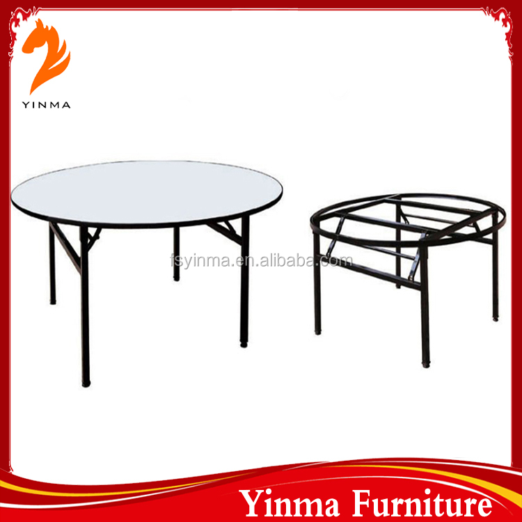 hot sale folding used round banquet tables for sale buy banquet tables used round banquet. Black Bedroom Furniture Sets. Home Design Ideas