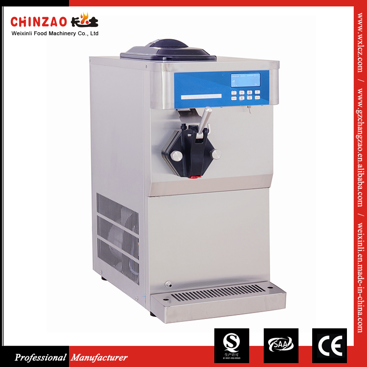 Alibaba the best sales product 1800W Electric swirl ice cream machine for sale
