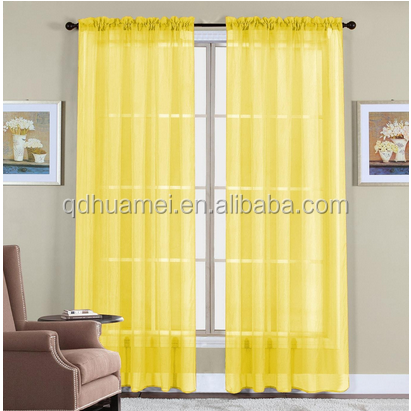 2 Piece Beautiful Sheer Window Elegance Curtains/drape/panels