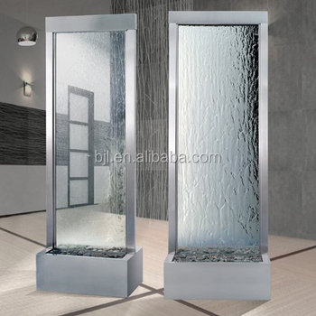 Hight Quality Glass Waterfall,Office Indoor Decorative Supplies ...