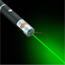 2016 New Products High Power 5mW 532nm Green Laser Pointer for Christmas Gift