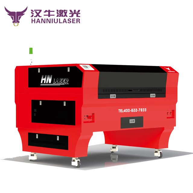 China popular CO2 laser engraving cutting machine for fabric and leather