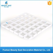Popular cheap price roofing decoration materials white aluminum grid ceiling sheets