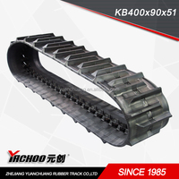 Rubber Track KB400 90 LINKS