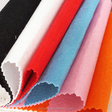 Color needle punched polyester embroidery non woven felt for garment