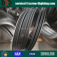 continuous screw spiral blade for construction machinery
