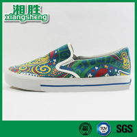 Colorful Printing New Model Canvas Shoes Women