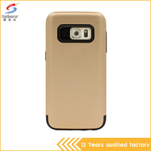 China suppliers cheap price pc tpu hybrid mobile phone housing for samsung Galaxy S7