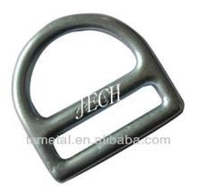 Lifting hardwares forged D ring , forged belt lifting O ring