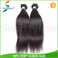 100% virgin brazilian stw straight human hair weft extension unprocessed bundle