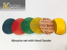 sand paper disc for polishing with velcro sanding paper and abrasive paper