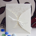 2014 New Off White Christian Wedding Cards