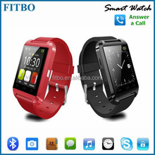 "1.48"" Vibrating smart watch phone For iphone 4/4S/5/5C/5S Android Samsung S2/S3/S4"