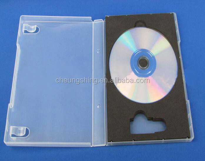 Hot sale dvd case 22mm eco-friendly USB holder with booklet
