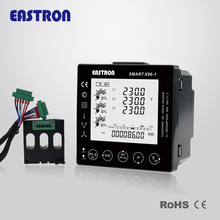 Smart X96-5 Three Phase Panel Mounted Digital Power Meter with Modbus,measure kWh,kVarh,kW,kVar,kVA,P,PF,Hz,dmd,V,A,THD