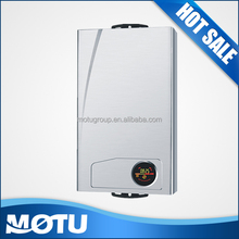 Hotel tankless gas water heater with pulse ignition
