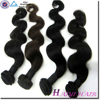 soft texture human hair 100% Virgin Gray Remy Hair