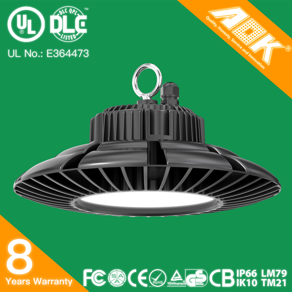 2017 New Industrial IP65 100W 120W 150W 200W LED Hight Bay Light, High Bay Luminaires Heat Sink UFO