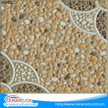 Tiles from China flower shape 300x300 durable ceramic floor tile outside decoration