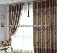 2014 china wholesale ready made curtain,faux linen window curtain