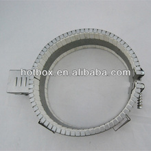 Electric ceramic band heater to heat PVC