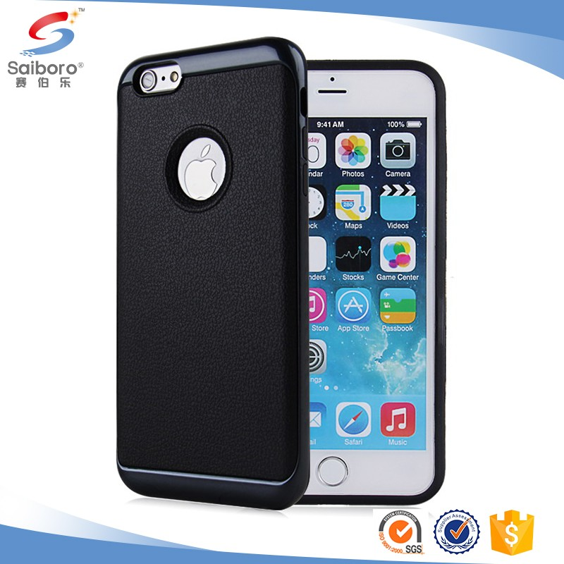 Fast delivery leather protective 2 in 1 phone case for iphone7