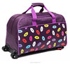 2017 New Style Polyester travel luggage bags