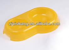European Fashionable First Rate High Quality food grade custom plastic dog bowls Bpa free