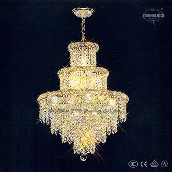 European traditional crystal restaurant crystal led chandelier ETL80007A